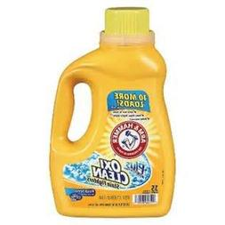 ARM & HAMMER LAUNDRY DETERGENT PLUS OXI CLEAN LIQUID 35 LOAD
