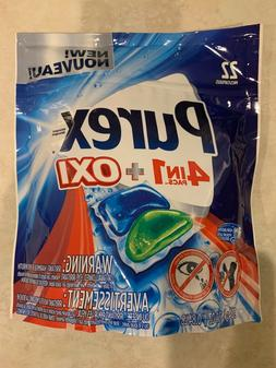 Purex laundry detergent pods. With oxi 22 in each bag 4in1