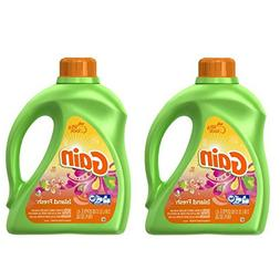 Gain Liquid Laundry Detergent, Island Fresh Scent, 64 loads,