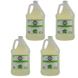 Liquid laundry detergent scented with essential oils, 4 pack