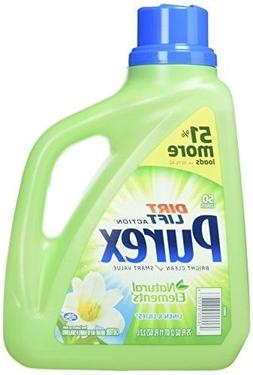 Purex Liquid Natural Elements Laundry Detergent, Linen Lilie