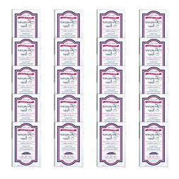 Forever New Liquid Unscented 20 Travel Packs by Forever New