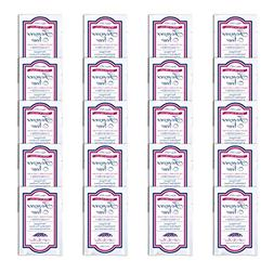 Forever New Liquid Unscented 20 Travel Packs Fabric Care Was