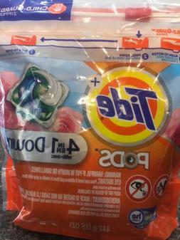 LOT OF 3 Tide Pods Laundry 4 in 1 Downy April Fresh 15ct  -