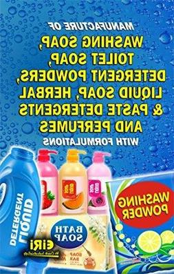 MANUFACTURE OF WASHING SOAP, TOILET SOAP, DETERGENT By Eiri