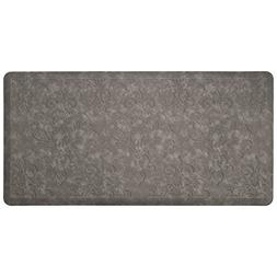 Chef Gear Marni Embossed Gelness Mat, 20 x 39, Dark Grey