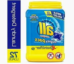 all Mighty Pacs Laundry Detergent Stainlifter 72 Count x2 Tu