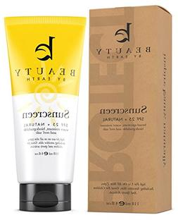 Mineral Sunscreen SPF 25 w/Natural and Organic Ingredients,