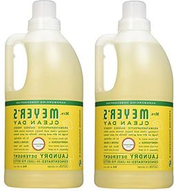 Mrs. Meyers Clean Day Laundry Detergent, Honeysuckle, 2 Coun