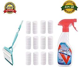 VeryOK 62 Pcs Multi Functional Effervescent Spray Cleaner Se