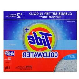 New 823695  Tide + Detergent 1.6 Kg H.E Coldwater Or  Laundr