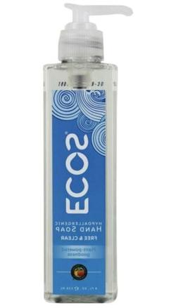 NEW Earth Friendly ECOS Hypoallergenic Hand Soap Free & Clea