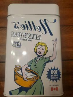 Nellie's NLS-100T All Natural Laundry soda, 100 Load Tin, NL