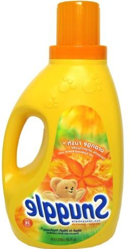 orange rush liquid fabric softener
