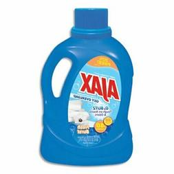 Ajax Stain Laundry Detergent, Lemon & Linen, 60-oz, 6 Bottle