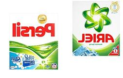 Persil + Ariel Laundry Detergent Powder Variety Pack - 4 Was