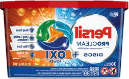 Persil Discs Laundry Detergent Pacs, Oxi, 38 Count Deep Clea