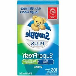 Snuggle Plus Super Fresh Fabric Softener Dryer Sheets, EverF
