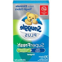 Snuggle Plus Super Fresh Fabric Softener Dryer Sheets with S