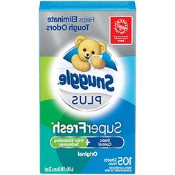 Snuggle Plus Super Fresh Fabric Softener Dryer Sheets Static