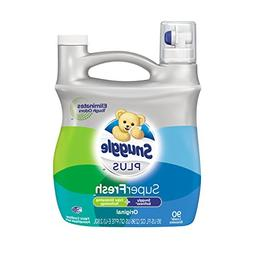 Snuggle PLUS SuperFresh Liquid Fabric Softener  95 FL OZ  90