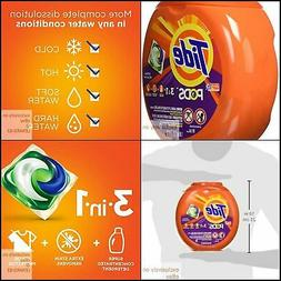 Tide Pods 3 in 1, Laundry Spring Meadow Scent, 81 Count Dete