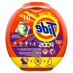 Tide PODS 3in1 HE Turbo Laundry Detergent Pacs,Spring Meadow