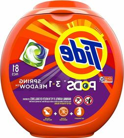 Tide Pods Laundry Detergent Pacs, Spring Meadows Scent, HE C