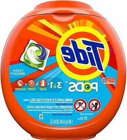 Tide PODS Ocean Mist HE Turbo Laundry Detergent Pacs 81-load