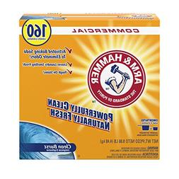 Arm & Hammer 33200-00109 Powder Laundry Detergent, Clean Bur