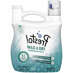Presto! Concentrated Liquid Laundry Detergent, Free Clear, 1