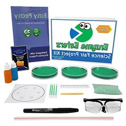Easy Peasy Science Fair Project Kit - Enzyme Eaters – Top