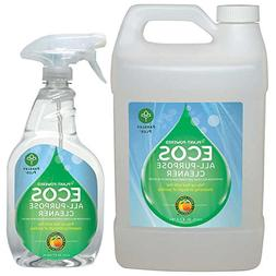 ECOS Earth Friendly All-purpose Cleaner  22 oz. + Refill - 1