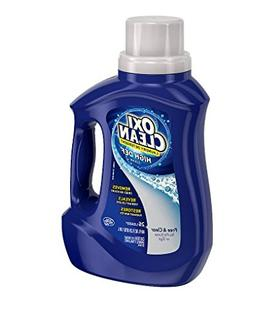 Removes! OxiClean Liquid Laundry Detergent Free & Clear40.0
