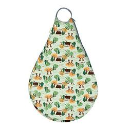 bumGenius Reusable Hangout Wet Bag - Holds 10-12 Cloth Diape