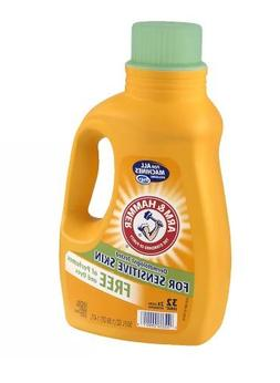 Safe! Arm & Hammer Laundry Detergent 2x Concentrate, Free of