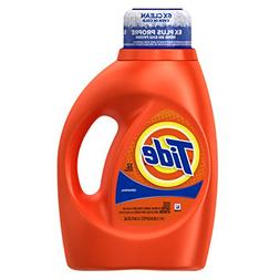 Tide Original Scent Liquid Laundry Detergent, 50 Fl Oz