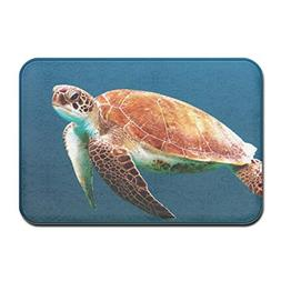ABE Sea Turtle Non Slip Doormat Floor Mat Carpet Indoor Rect