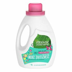 Seventh Gen Baby Natural Laundry Detergent Gentle All Natura