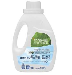 Seventh Generation - 2 Pack - Natural 2X Concentrate Laundry