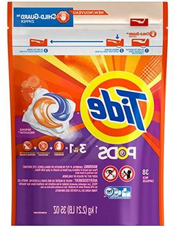 Tide Spring Meadow, 3 in 1 Detergent + Stain Remover + Color