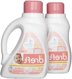 Dreft Stage 1 Newborn HE Baby Laundry Detergent - 50 oz - 2