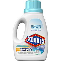 Clorox Stain Fighter & Color Booster, Free, HE, 33 oz