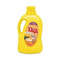 Ajax Stain Laundry Detergent, Lemon & Linen, 134-oz, 4 Bottl