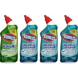 Clorox Toilet Bowl Cleaner with Bleach Variety Pack - 24 Oun