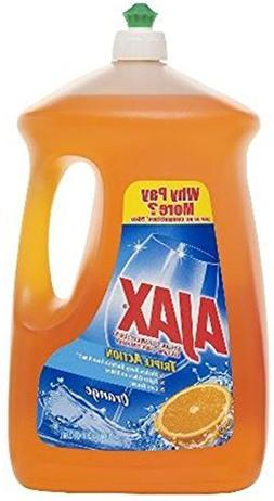 Ajax Triple Action Dish Liquid, Orange, 90 Ounce
