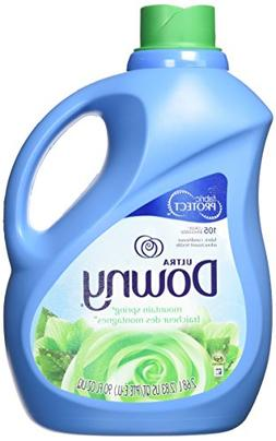 Downy Ultra Liquid Fabric Softener, Mountain Spring Scent, 2