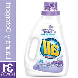 all Fresh & Sensitive Laundry Detergent, 31 Loads, 46 Fl oz