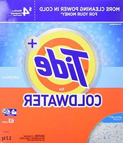 Tide Plus HE Turbo Coldwater Powder Laundry Detergent, Origi