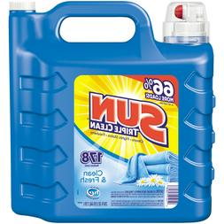 Sun Ultra Liquid Laundry Detergent, Clean and Fresh, 250 Oun
